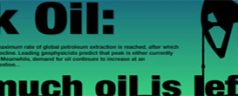 Peak Oil Consumption – How much oil is left?
