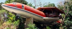 Jet Planes Turned Into Hotels and Houses