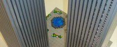 Attack on WTC 9/11 Lego recreation