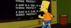Bart At Blackboard (pics)