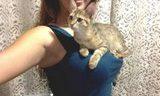 One Really Lucky Kitten